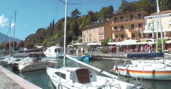 Am Gardasee in Italien gibt es wunderschöne Ferienhäuser